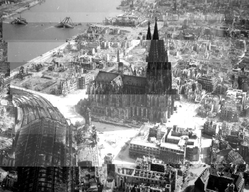 Cologne after war for Koln ww2